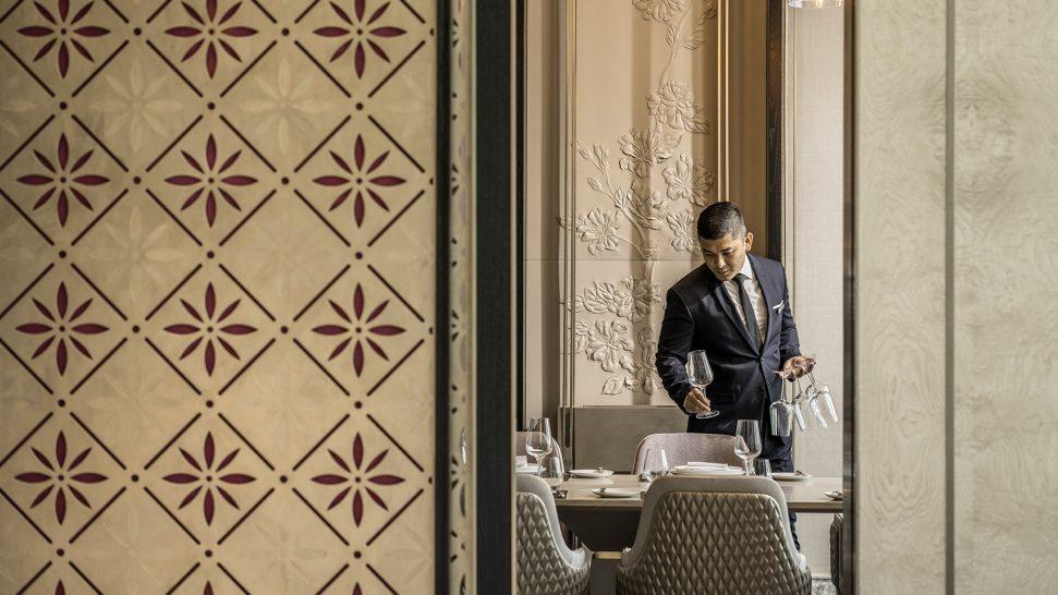 Four Seasons hotel Kuala Lumpur In Dining Room