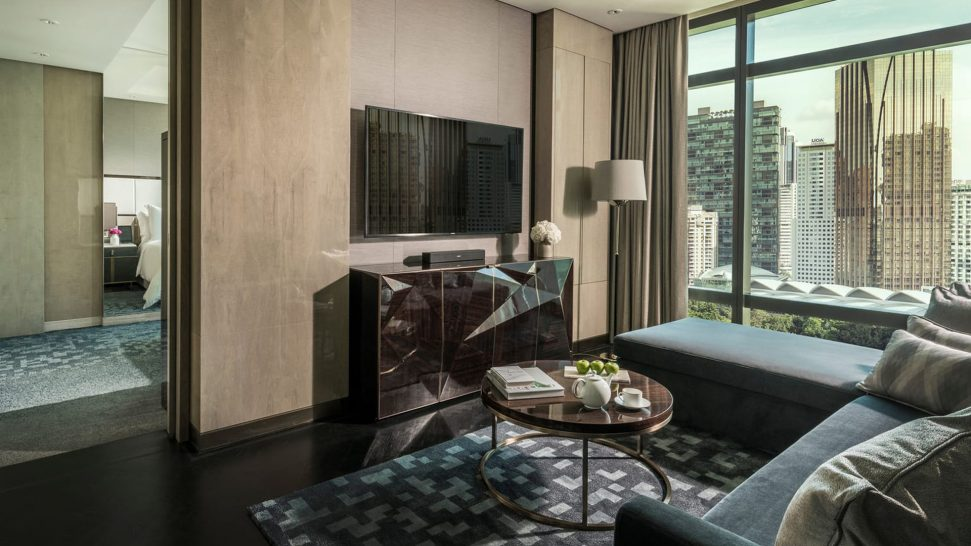 Four Seasons hotel Kuala Lumpur Park View Junior Suite