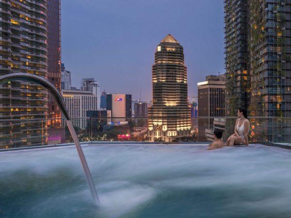 Four Seasons hotel Kuala Lumpur Pool