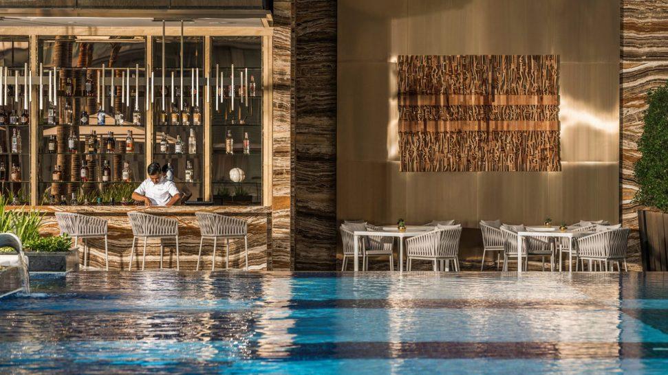 Four Seasons hotel Kuala Lumpur Pool Grill