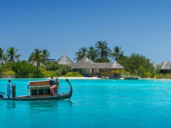 Four Seasons maldives at kuda huraa Arrival at the Island Spa