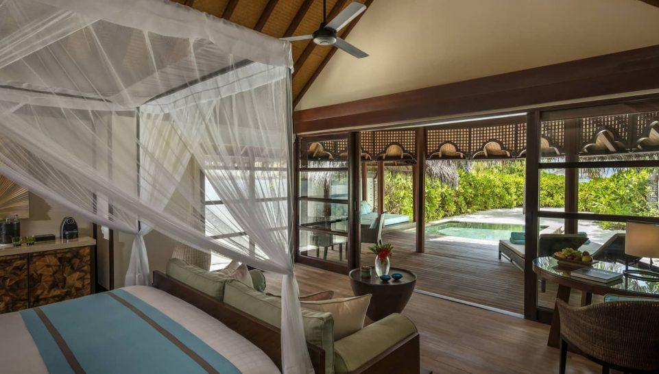 Four Seasons maldives at kuda huraa Beach Bungalow with Pool