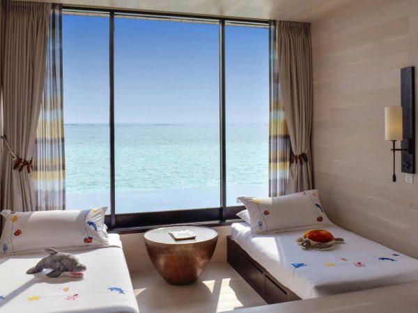 Four Seasons maldives at kuda huraa Sunrise Family Water Villa with Pool