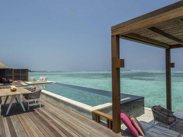 Four Seasons maldives at kuda huraa Sunrise Two Bedroom Water Suite