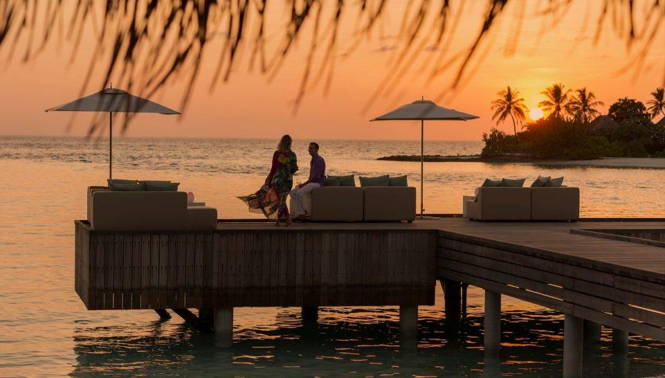 Four Seasons maldives at kuda huraa Sunset Lounge