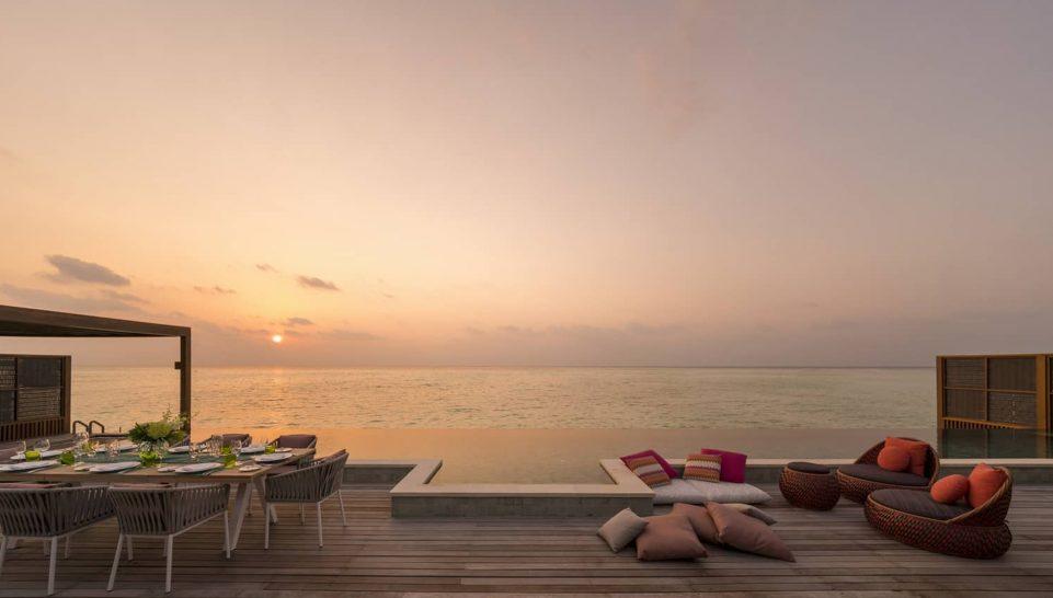 Four Seasons maldives at kuda huraa Sunset Three Bedroom Water Suite