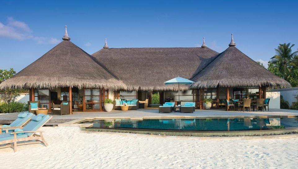 Four Seasons maldives at kuda huraa Two Bedroom Royal Beach Villa