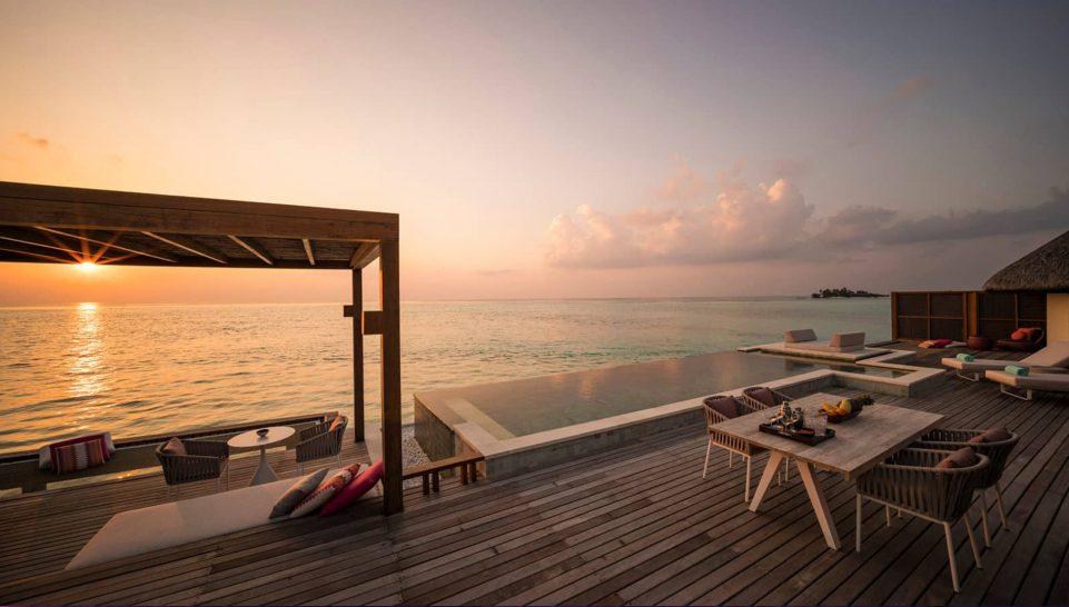 Four Seasons maldives at kuda huraa Two Bedroom Water Suite