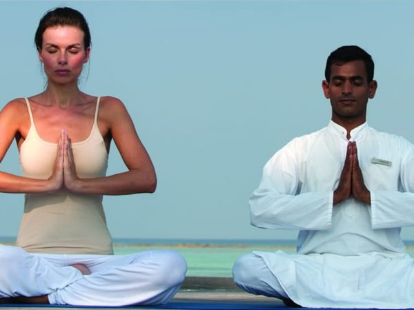 Four Seasons maldives at kuda huraa yoga