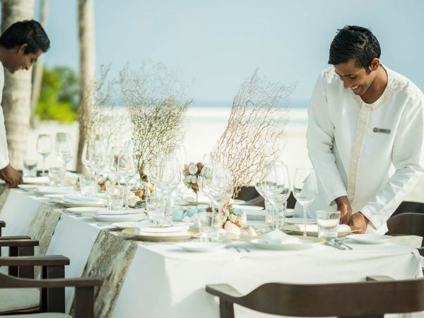 Four Seasons maldives private island at voavah Restaurant