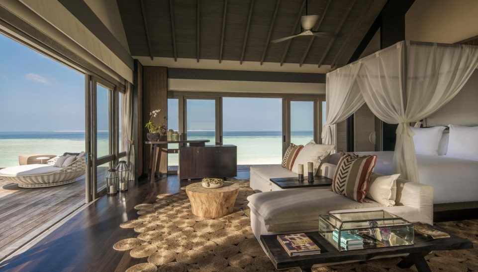 Four Seasons maldives private island at voavah Three Bedroom Beach Villa