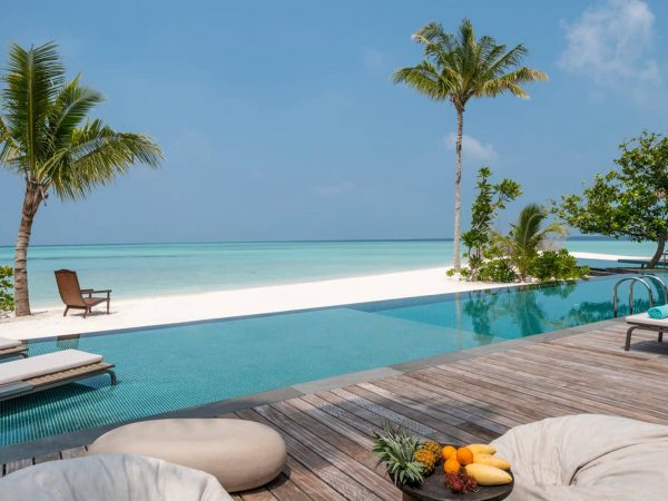 Four Seasons maldives private island at voavah Three Bedroom Beach view
