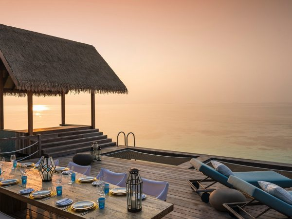 Four Seasons maldives private island at voavah Two Bedroom Water Villa