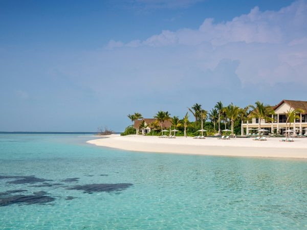Four Seasons maldives private island at voavah beach house