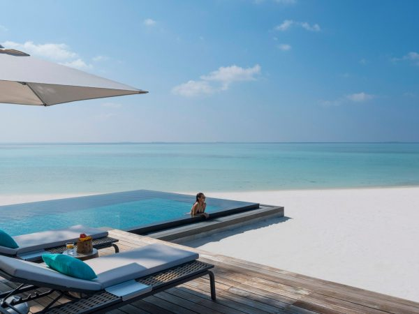 Four Seasons maldives private island at voavah beach villa