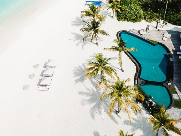 Four Seasons maldives private island at voavah overview