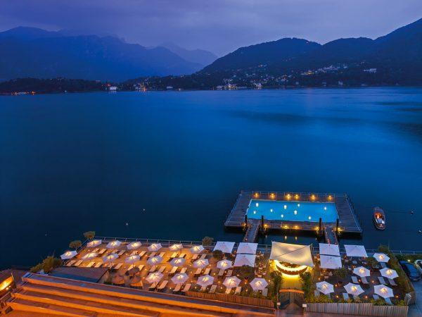 Grand Hotel Tremezzo Beach night