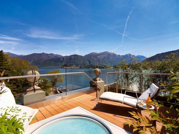 Grand Hotel Tremezzo Junior Suite terrace
