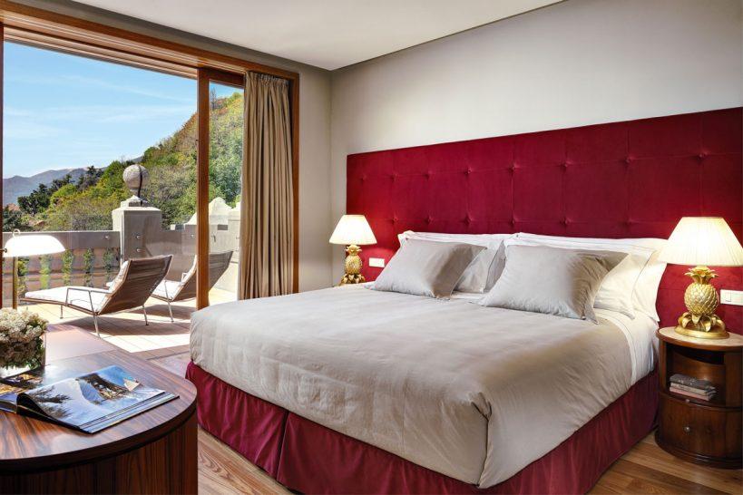 Grand Hotel Tremezzo Rooftop Corner Suite Bedroom