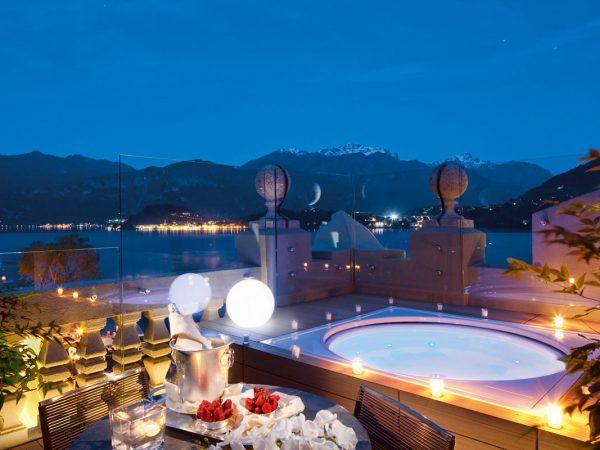 Grand Hotel Tremezzo Rooftop Corner Suite terrace