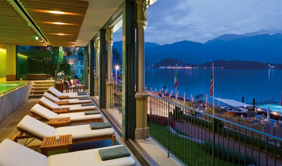Grand Hotel Tremezzo Spa relaxation area