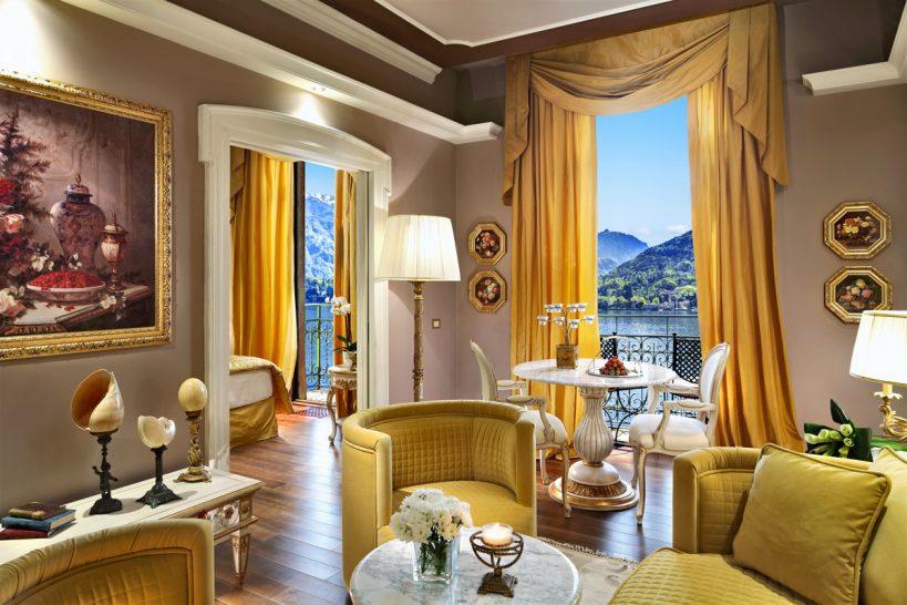 Grand Hotel Tremezzo Suite Aurelia living room