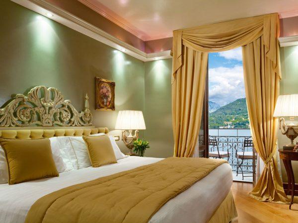 Grand Hotel Tremezzo Suite Carlotta bedroom