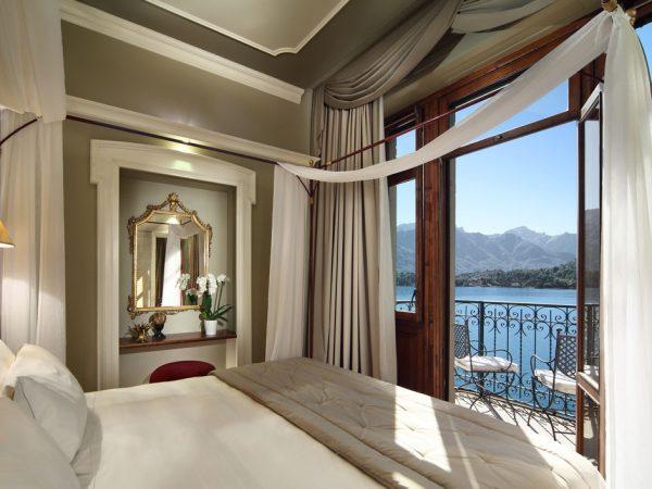 Grand Hotel Tremezzo Suite Maria bedroom