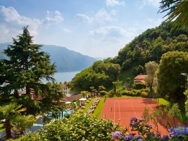 Grand Hotel Tremezzo Tennis clay court