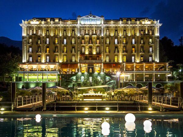 Grand Hotel Tremezzo night view