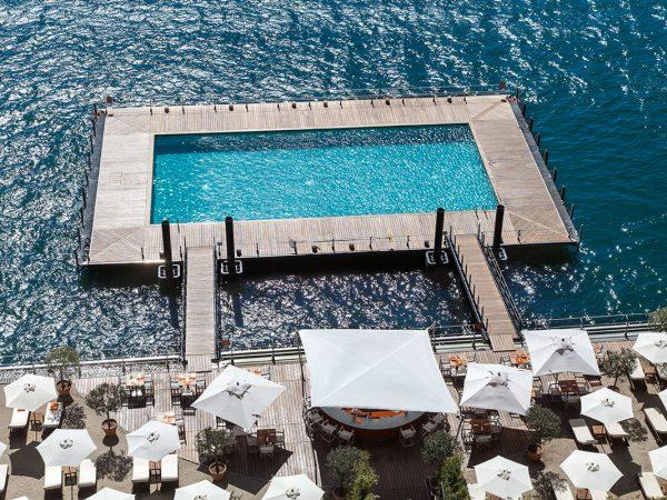 Grand Hotel Tremezzo T beach