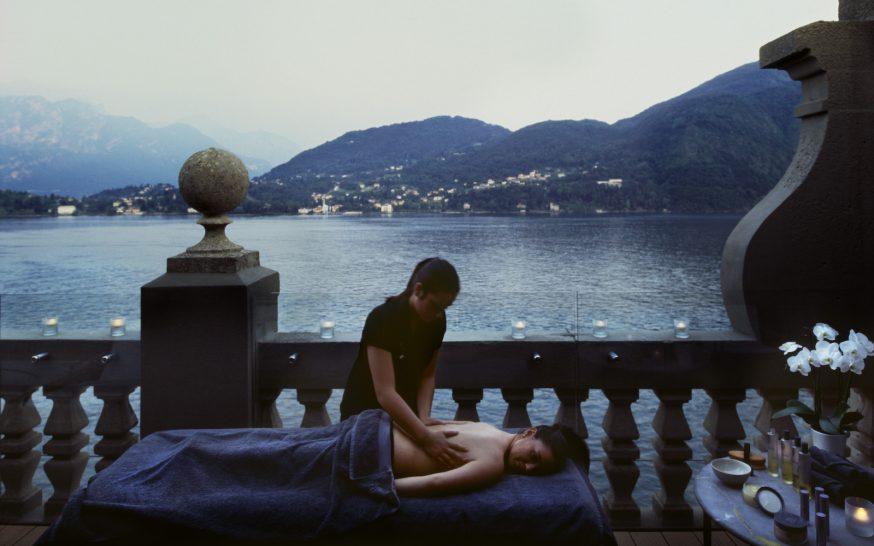 Grand Hotel Tremezzo lakeside massage