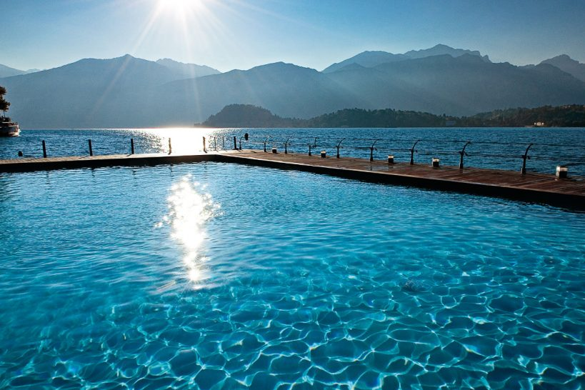 Grand Hotel Tremezzo pool