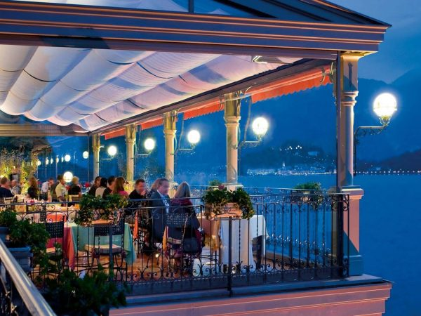 Grand Hotel Tremezzo romantic lakeside dining