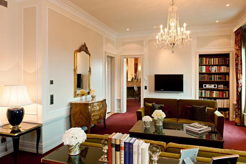 Bellevue Palace presidential suite