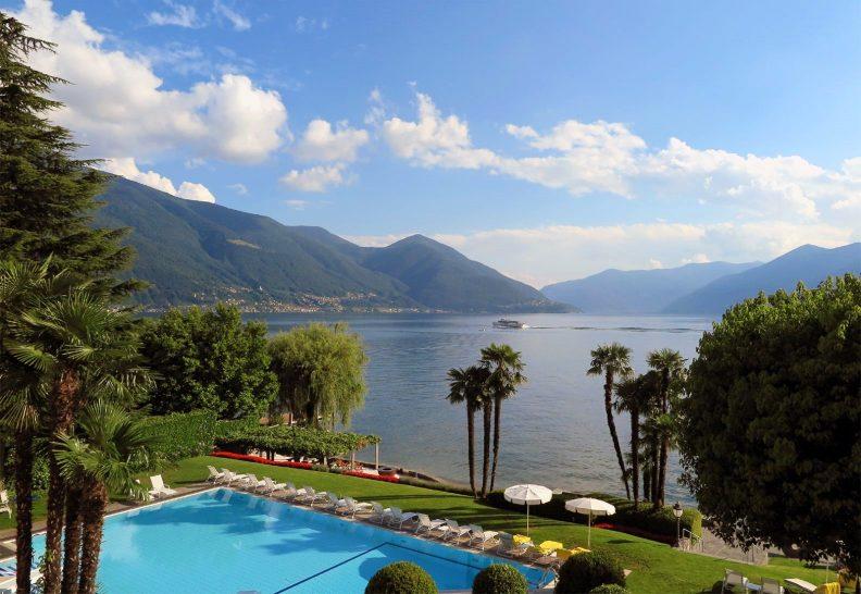 Hotel Eden Roc Ascona Outdoor Pool