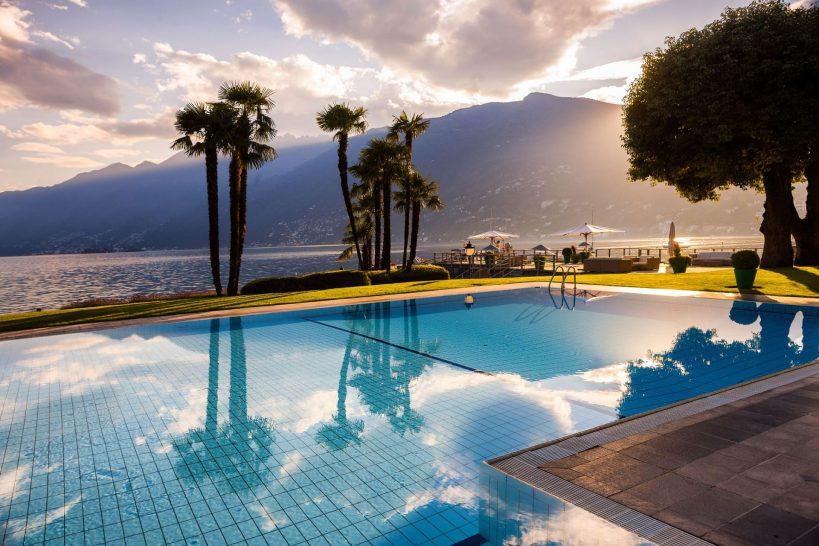 Hotel Eden Roc Ascona Pool
