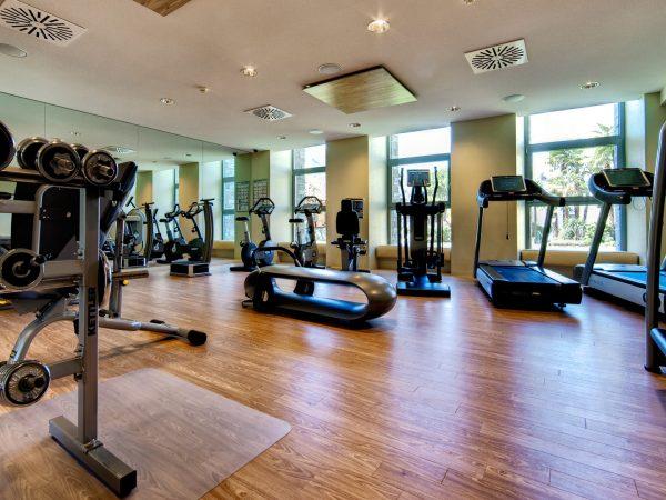 Hotel Eden Roc gym