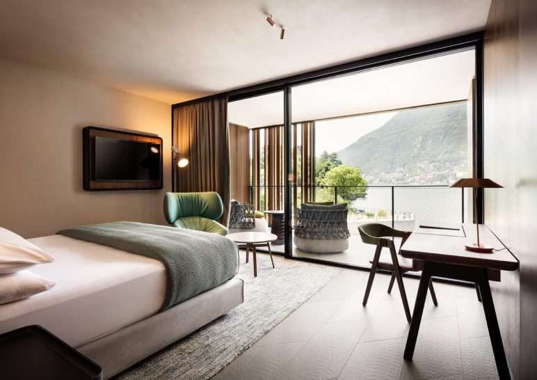 Il Sereno Hotels Grand Suite Lago Bedroom