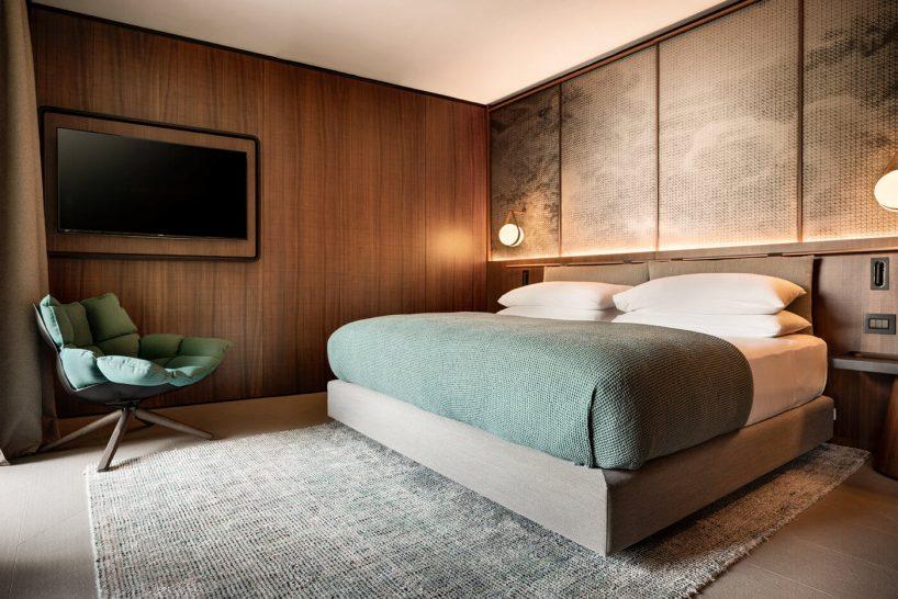 Il Sereno Hotels The Alcova Suite Bed Room