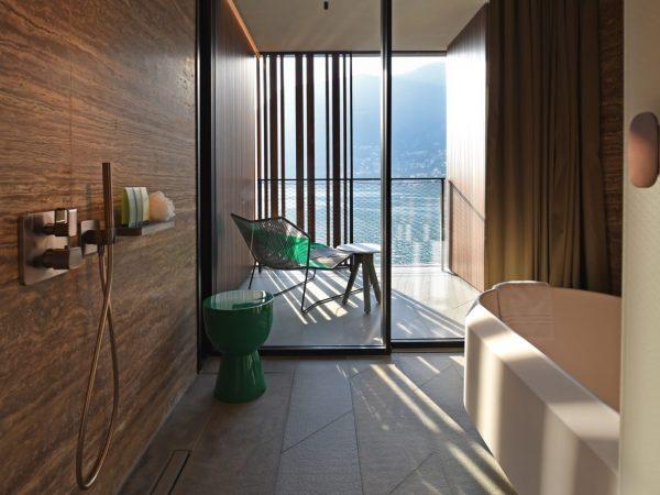 Il Sereno Hotels The Corner Suite Bathroom