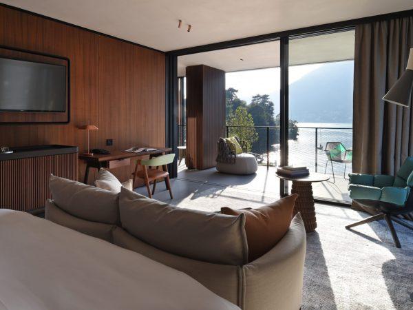 Il Sereno Hotels The Corner Suite Bedroom
