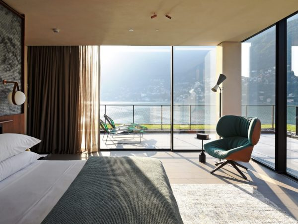 Il Sereno Hotels The Penthouse Suite Bedroom
