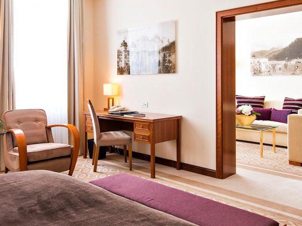 Kempinski Grand Hotel Des Bains St. Moritz Deluxe Junior Suite