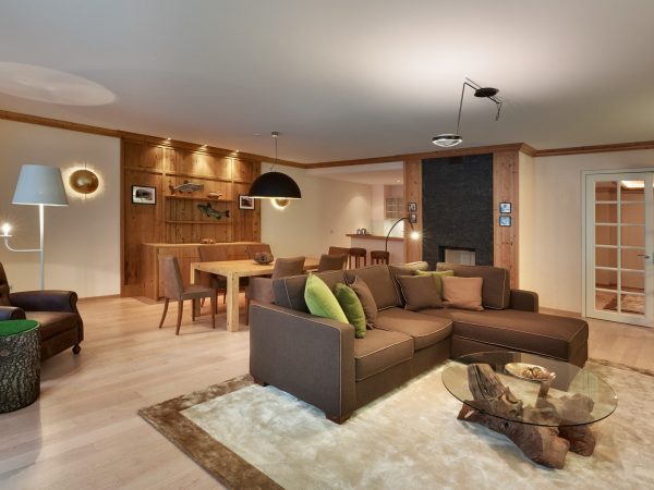 Kempinski Grand Hotel Des Bains St. Moritz Deluxe One Bedroom Chalet Suite