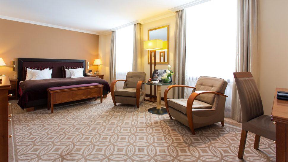 Kempinski Grand Hotel Des Bains St. Moritz Deluxe Room
