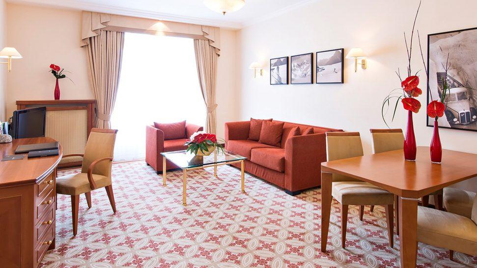 Kempinski Grand Hotel Des Bains St. Moritz Deluxe Suite