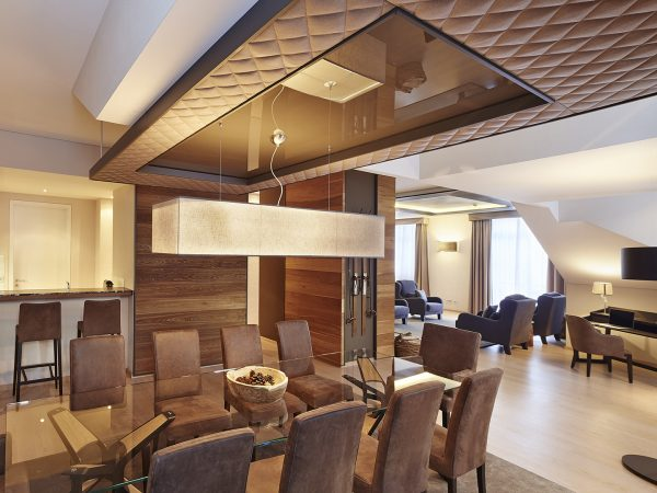 Kempinski Grand Hotel Des Bains St. Moritz Deluxe Three Bedroom Chalet Suite