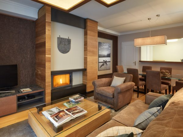Kempinski Grand Hotel Des Bains St. Moritz Deluxe Two Bedroom Chalet Suite