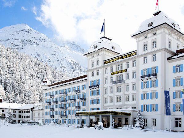 Kempinski Grand Hotel Des Bains St. Moritz Exterior